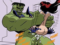 XXX Avengers - The hulk violently..